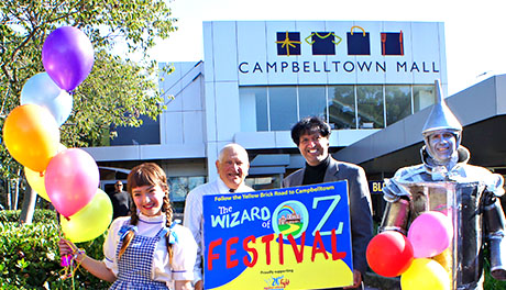 <empty>Campbelltown Mall Wizard of Oz Festival Campbelltown
